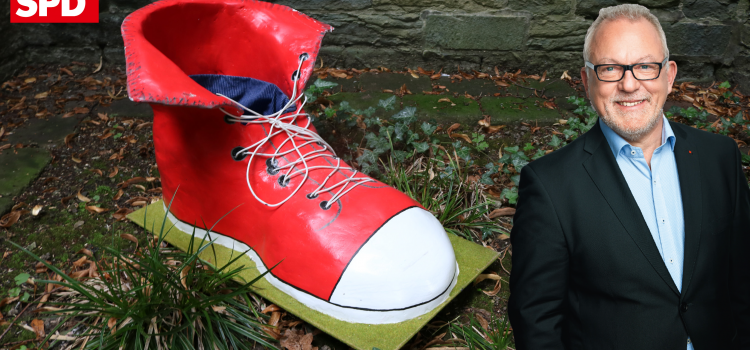 Wo drückt Ihr Schuh? – Müntefering und Hellmich vor Ort